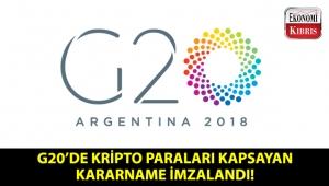 G20 zirvesinde kripto vergi sistemi ile ilgili kararname imzalandı!..