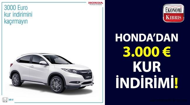 Honda Kıbrıs'tan, muhteşem indirim fırsatı!..