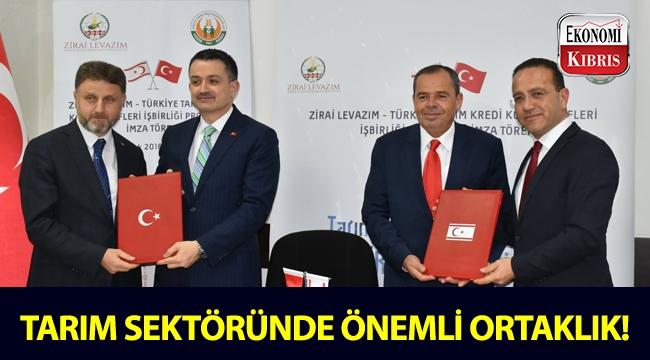 KKTC Tarım ve Doğal Kaynaklar Bakanlığı ile TC Tarım ve Orman Bakanlığı arasında iş birliği!..
