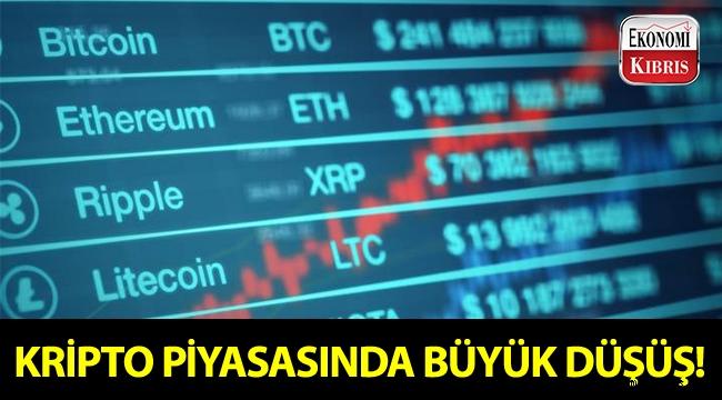 Kripto piyasasında Temmuz 2017'den beri en büyük düşüş!..