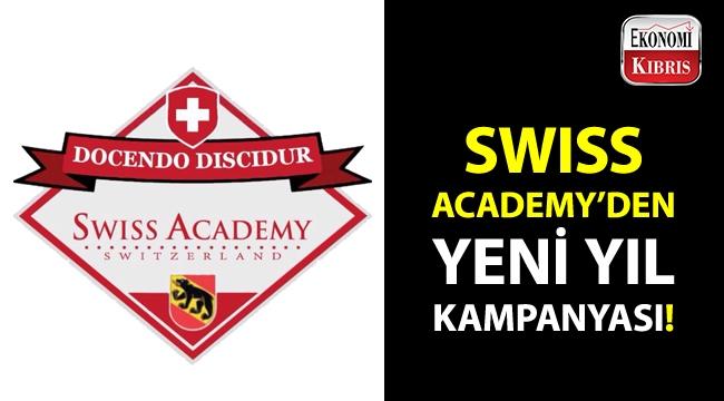 Swiss Academy'den yeni yıl kampanyası!..