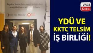 YDÜ ve KKTC Telsim iş birliğinde 'Engelsiz Sinema Salonu ve Aktivite Merkezi' açılışı gerçekleşti!..