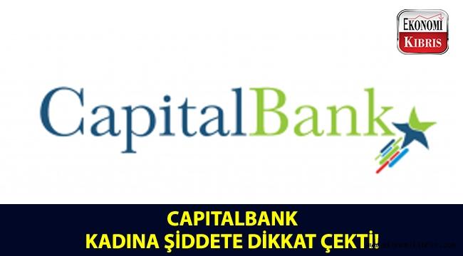 CapitalBank, bu kez kadına şiddete farkındalık yaratmak amacıyla takvim hazırladı!..