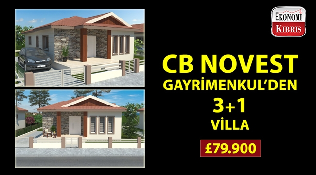 Coldwell Banker Novest Gayrimenkul'den avantajlı fiyata villa!..