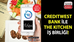 Creditwest Bank ile The Kitchen Cafe & Restaurant iş birliği!