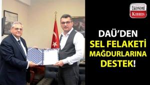 DAÜ'den sel mağdurlarına anlamlı destek!..