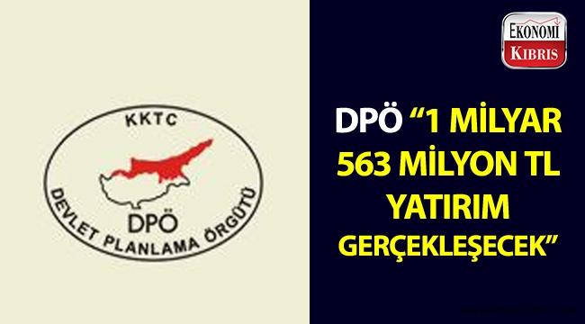DPÖ, teşvik belgesi sonucunda gerçekleşecek yatırımları açıkladı!..
