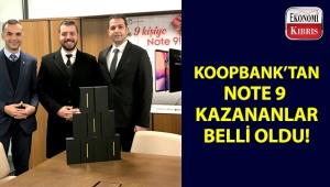 İşte, Koopbank'ın düzenlediği kampanyayla Note 9 kazanan talihliler!..