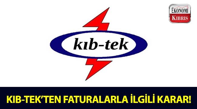 KIB-TEK, 39 günlük faturalarla ilgili karar aldı!..