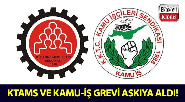 KTAMS ve KAMU-İŞ, Girne Mahkemesinde yaptıkları grevi askıya aldı!..
