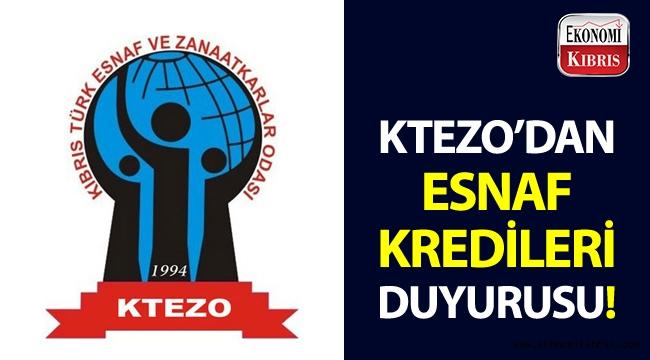 KTEZO, Halkbank tarafından düşük faizli esnaf kredilerinin verilmeye başlandığını açıkladı!..