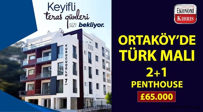 Kurucuoğlu İnşaat & Emlak'ın Kurucuoğlu 7 projesinde uygun fiyata satılık penthouse!..