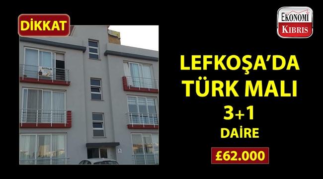 Lefkoşa'da avantajlı fiyata satılık daire!..