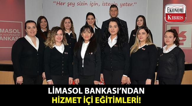 Limasol Bankası'nın 2019 birinci dönem hizmet içi eğitimleri devam ediyor!..