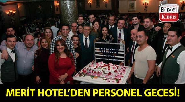 Merit Lefkoşa Hotel personeli, yılın yorgunluğunu eğlenerek attı!..