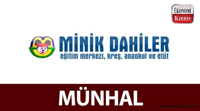 Minik Dahiler Eğitim Merkezi, münhal açtı!
