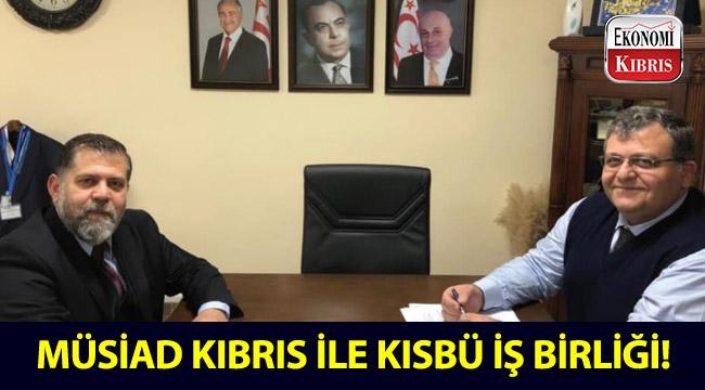 MÜSİAD Kıbrıs ile KISBÜ arasında iş birliği protokolü imzalandı!..