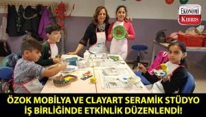 Özok Mobilya ve ClayArt Seramik Stüdyo iş birliğinde seramik boyama etkinliği gerçekleşti!..