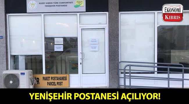 Yenişehir Postanesi, bugün hizmete açılıyor!..