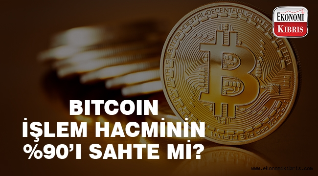 Bitcoin işlem hacminin %95'i sahte mi?