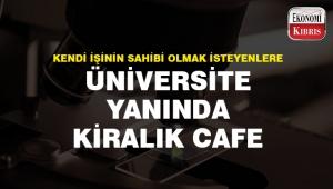 İş kurmak isteyenler için üniversite yanında kiralık cafe..