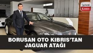 Borusan Oto Kıbrıs'ta Nisan ayında Jaguar atağı..