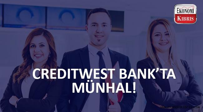 Creditwest Bank'ta iş fırsatı!