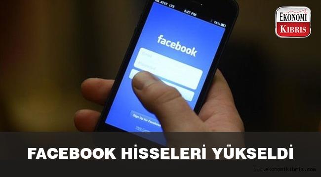Facebook hisseleri yükseliyor..
