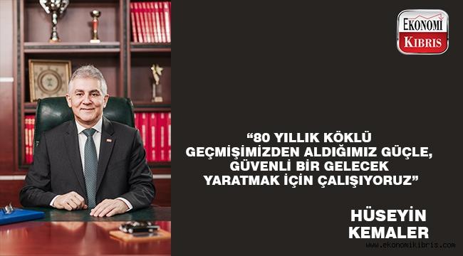 Limasol Türk Kooperatif Bankası Yönetim Kurulu Başkanı Hüseyin Kemaler: