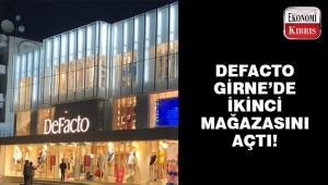 DeFacto Girne'de 2. mağazasını açtı..