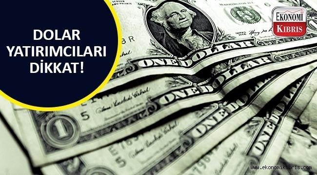 Dolar/TL yükselişe geçti..