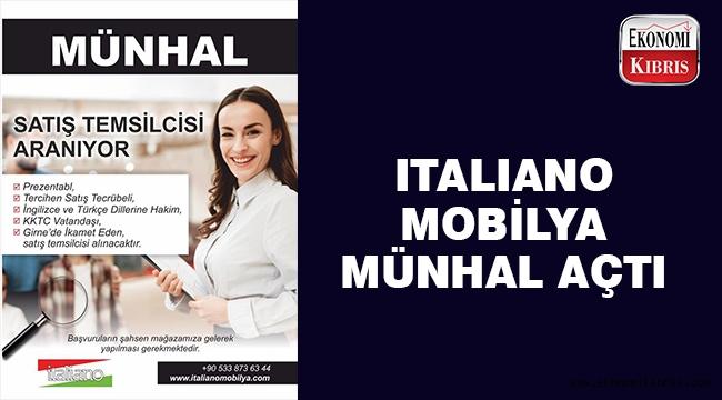 Italiano mobilya personel arıyor..