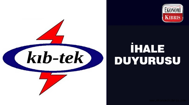 KIB-TEK ihale açtı..