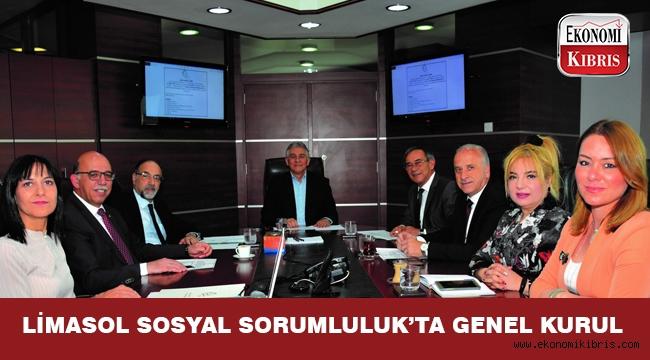 Limasol Sosyal Sorumluluk Kurumu'nda Genel Kurul yapıldı...