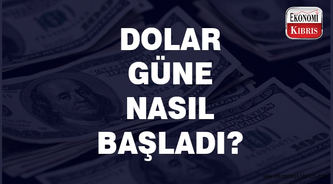 Dolar/TL güne sert bir düşüşle başladı..
