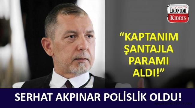 GAÜ Kurucu Rektörü Serhat Akpınar'dan Türkiye polisine şantaj suç duyurusu!