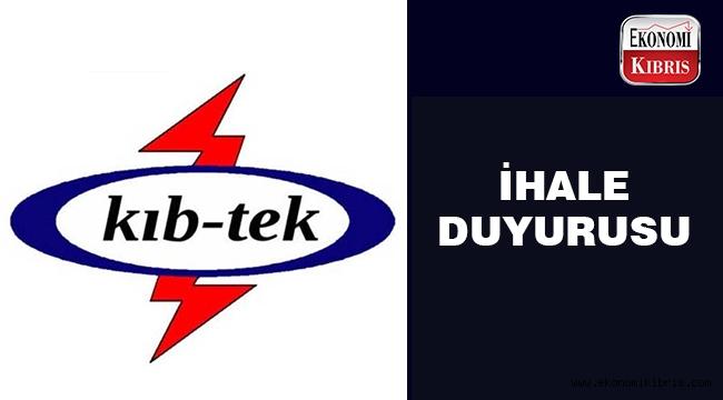 KIB-TEK ihale açtı.