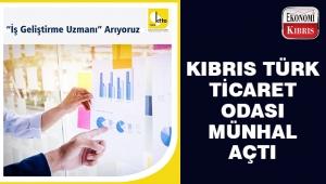 Kıbrıs Türk Ticaret Odası münhal açtı..