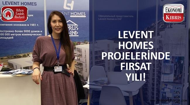 Levent Homes projelerinde fırsat yılı..