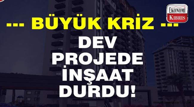 Smart Trio Lefkoşa konut projesi Sky City'de Universal Bank proje finansmanı kriziyle inşaat durdu!