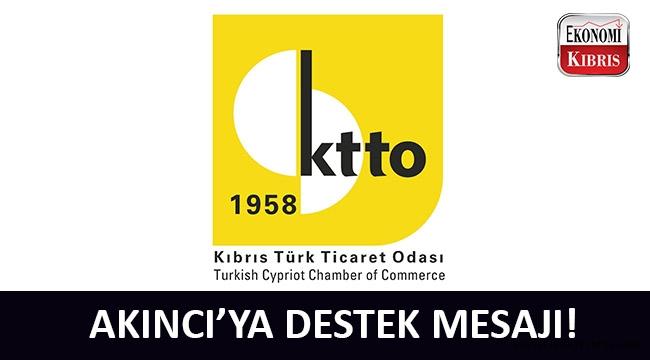 Kıbrıs Türk Ticaret Odası'ndan Cumhurbaşkanı Akıncı'ya destek mesajı!