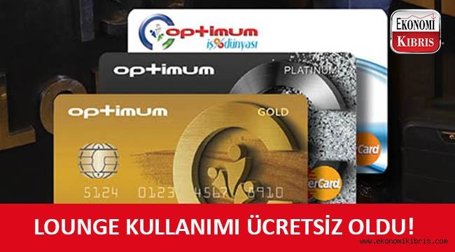 Koopbank Optimum kart kullanıcılarına İstanbul Sabiha Gökçen Lounge'da kullanım ayrıcalığı!