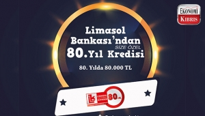 Limasol Bankası'ndan 80. Yıla Özel Kredi!