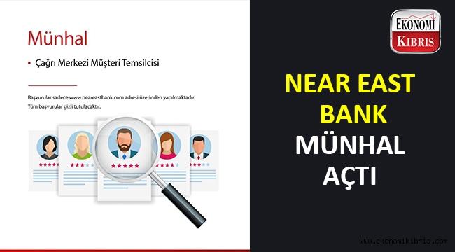 Near East Bank takım arkadaşları arıyor.