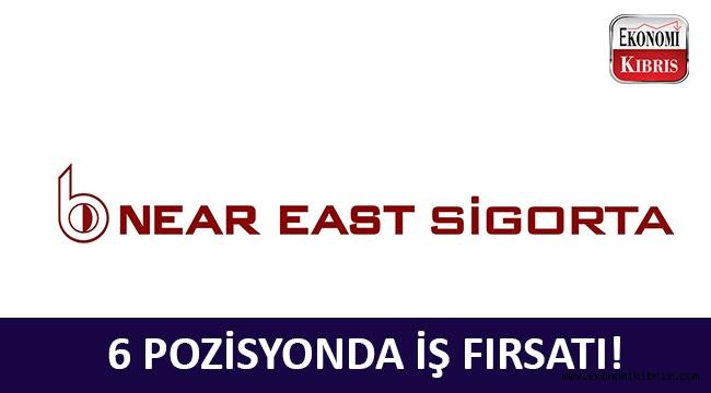 Near East Sigorta 6 farklı pozisyonda münhal açtı! - Kıbrıs İş İlanları
