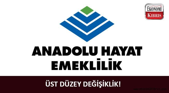 Anadolu Hayat Emeklilik'e yeni genel müdür!