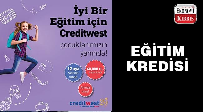 Creditwest Bank'tan eğitim kredisi kampanyası..