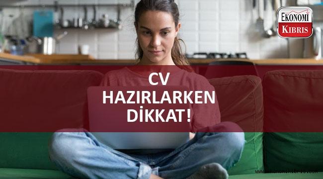Doğru CV ile hayatınızı değiştirin!