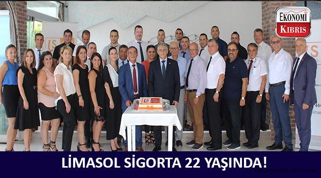 Limasol Sigorta 22'nci yaşını kutladı!