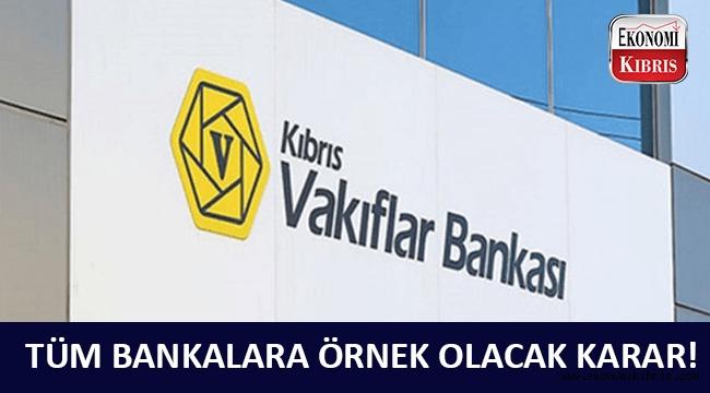 Kıbrıs Vakıflar Bankası'ndan faiz indirimi kararı!